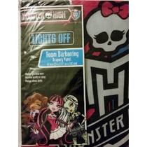 Monster High Habitación Oscurecimiento Blackout Mantón (1 Pa