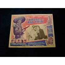 Los Bandidos De Rio Frio Luis Aguilar Lobby Card Cartel