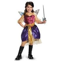 Disfraz De Zarina, Tinkerbell Hadas Y Piratas Para Niñas