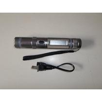 Linterna Con Descarga Electrica, Paralizador Stun Gun