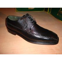 Zapato De Piel De Venado En Color Negro