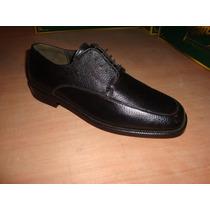 Zapato De Piel De Venado Color Negro