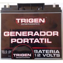 Bateria Trigen Para Planta De Luz 12 V 18 Amp