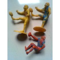 Jugadores De Futbol Americano De Plastico Lotes De 3 O 4