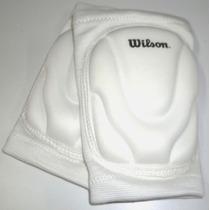 Rodillera Para Volybol Wilson Estandar Blanca