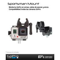 Soporte Para Gopro Sportsman Mount (armas Cañas Y Arcos)