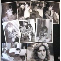 Lucia Mendez - 9 Fotos Originales De 1982 A 1987 Unicas