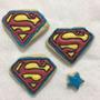Paquete Galleta Decorada Fiestas Cumple Super Heroe Superman