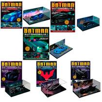 Dc Batman Batmobile 1/43 Automobilia Batimobil Eaglemoss Vv4