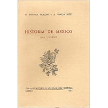 Historia De México. Una Síntesis. W. Jiménez Moreno Vv4
