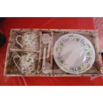 Precioso Set Para Te Hogar Cafeteria Restaurante