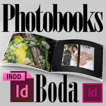 Photobooks Boda Plantillas Editables Mas Increibles Regalos