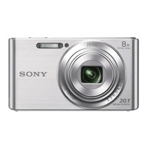 Camara Sony Dscw830/b Plata +16gb- Envio Asegurado Gratis