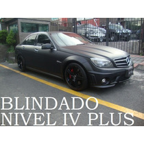 Mercedes Benz C63 Amg 2011 Blindado Nivel 4 Plus Remato!!