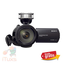 Ituxs I Videocámara Sony Nex-vg30h + Lente 18-200mm Power