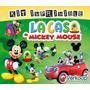 Kit Imprimible La Casa De Mickey Mouse Personaliza Tu Fiesta