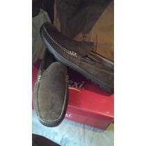 Zapatos Casuales Mocasines 11mex 13us 31cm Cafe Comodisimos