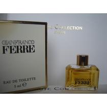 Perfume Miniatura Coleccion Gianfranco Ferre Femme 5 Ml