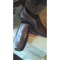 Zapatos Flexi 11 Mex 13 Us 31 Cm Cafe Comodos Super Suaves