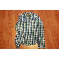 Camisa Hollister Manga Larga Talla L