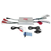 Pyle Plmrmp3a De 4 Canales Impermeable Mp3 / Ipod Amplificad