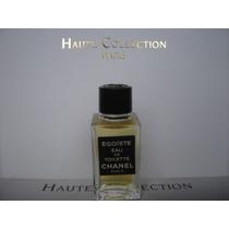 Perfume Miniatura Coleccion Chanel Egoiste De 3 Ml