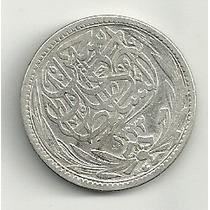 Moneda De Plata Egipto (1917) 5 Piastres