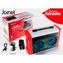 Bocina Portatil Karaoke Bluetooth Luces Led Usb Sd Auxiliar