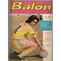 Revista Futbol México Balón Tigres Uanl Tomás Boy 1981