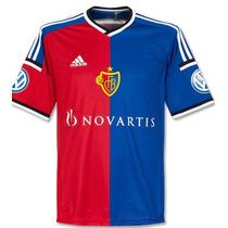 Jersey Fc Basel Adidas Suiza 2014-15 Local Original