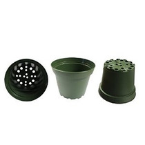 2x Plástico Macetas Para Plantas Esquejes Y Plántulas De 4 P