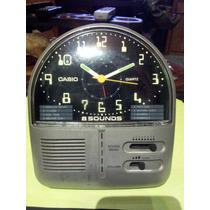 Reloj Vintage Casio Quartz 8 Sounds Games