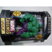 Marvel Legends Icons Hulk Verde En Mano 100% Nuevo