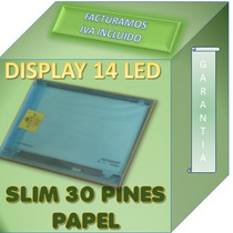Pantalla Display Led 14 Led 30 Pines Compatible Hb140wx1-501