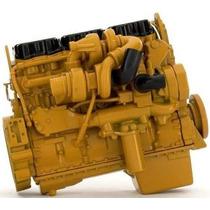 1:12 Replica Motor C15 Trailer Caterpillar Original A Escala