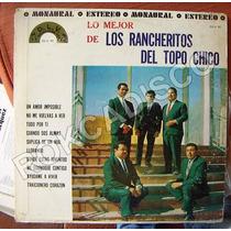 Bolero, Los Rancheros Del Topo Chico, Lp 12´,