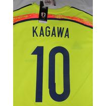 Jersey Selección Japón Visita Mundial 2014 Kagawa 10 Adidas