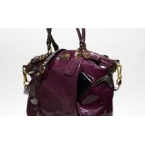 Preciosa Coach Sophia Satchel Patente Leather 100% Original