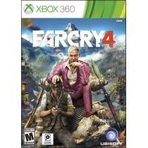 Far Cry 4 Xbox 360 Nuevo Blakhelmet Sp