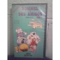 Vhs Dommel Y Sus Amigos Vol. 1 Walt Disney Vintage Italiana
