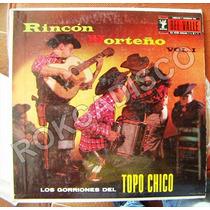 Bolero, Los Gorriones Del Topo Chico, Lp 12´,