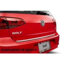Moldura Cromada Cajuela Golf A7 Embellecedor Porton Trasero