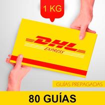 80 Guia Prepagada Dia Siguiente Dhl 1kg +recoleccion Gratis