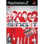 Playstation 2 Sing It Disney High School Musical Juego Ps2