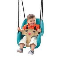 Paso 2 Infantil Para Niños Pequeños Columpio 1-pack (turques