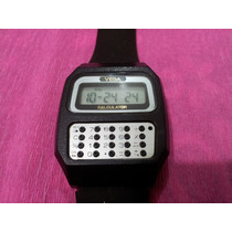 Reloj De Pulsera Citizen Calculator Vega