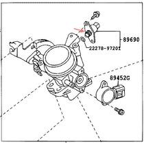 Valvula Iac (marcha Minima) Toyota Avanza 06 07 08 09 10 11
