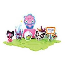 Moshi Monsters Set De Poppet Armable Del Burger King