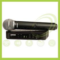 Shure Blx24 Pg58 Microfono Inalambrico - Electronica Winners