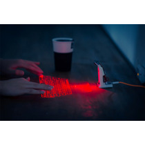 Teclado Laser Usb Impresionante Para Pc
